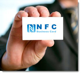 NFC Business Card Paper